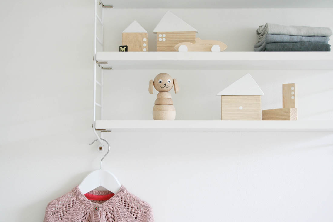 Nursery tour | Pocket string shelf and reva changing basket | Pinch toys wooden toys | Apartment Apothecary
