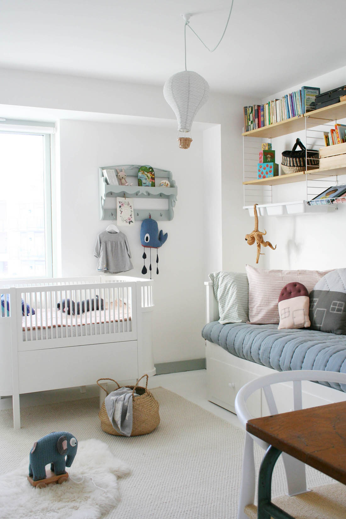 Nursery tour | Sebra kili cot | Apartment Apothecary