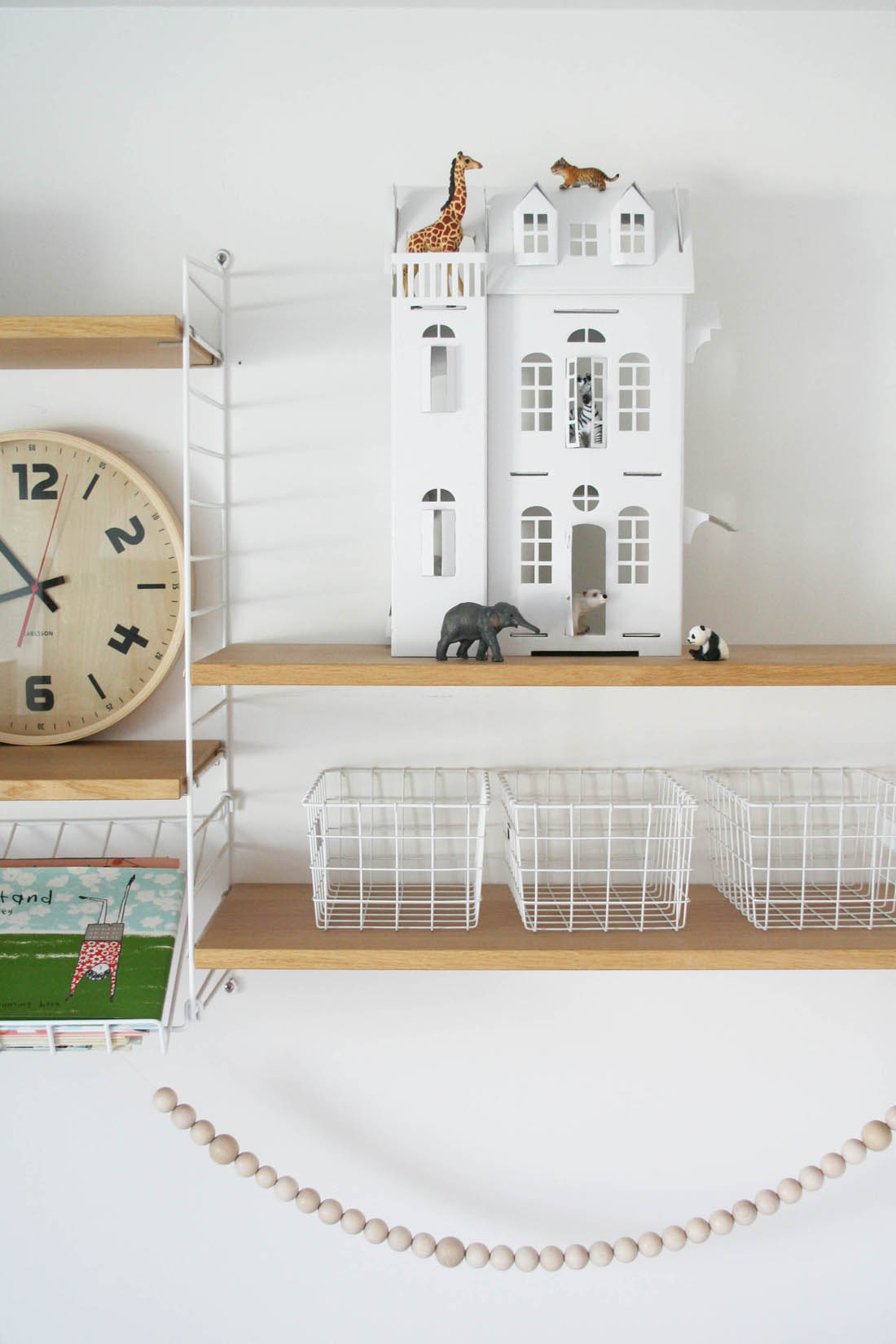 Nursery tour | White paper doll house | Apartment Apothecary