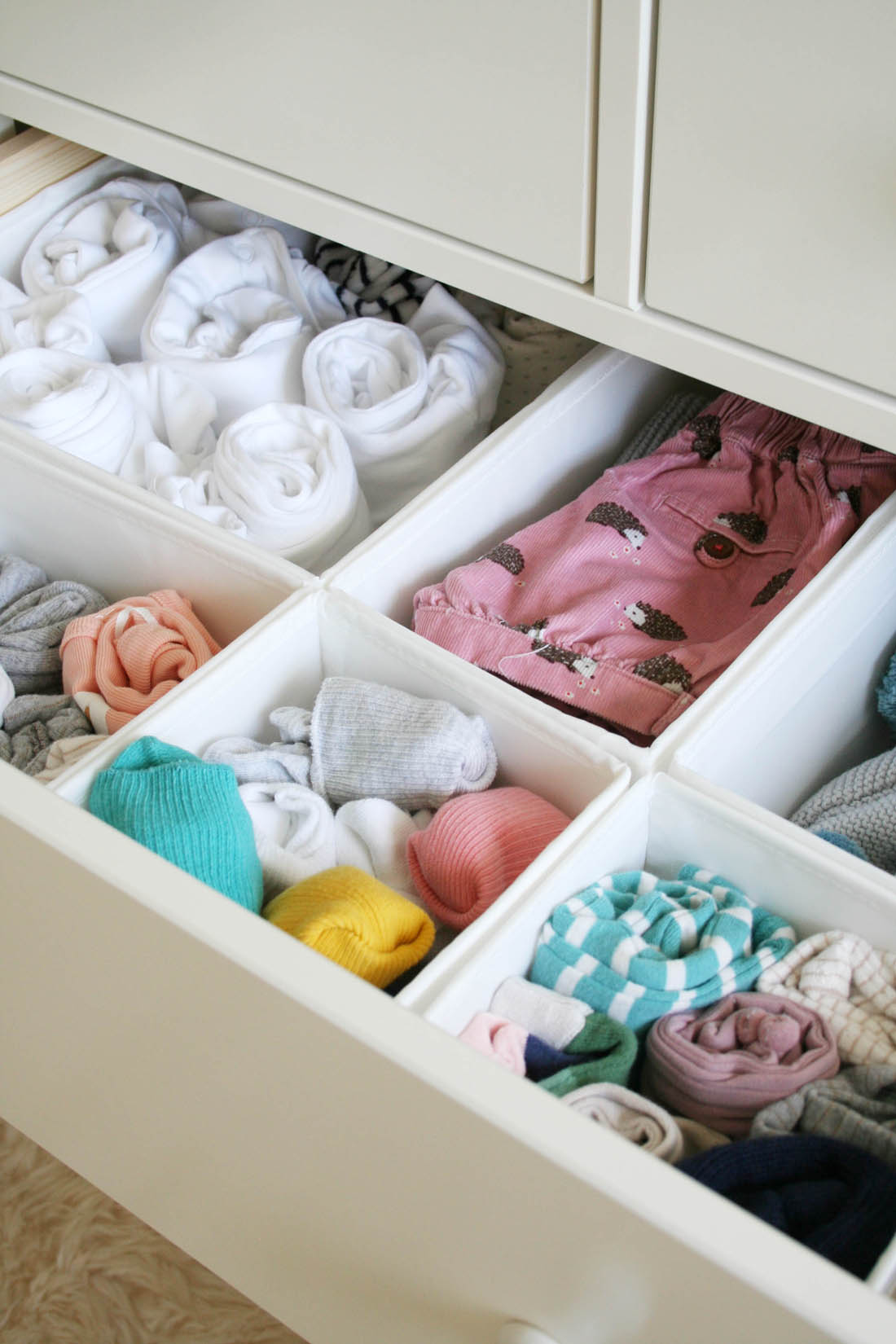 Nursery tour | Hemnes chest of drawers from IKEA | Apartment Apothecary