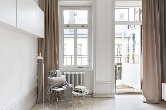 Swedish apartment | Scandinavian interiors | Minimalism | Apartment Apothecary |