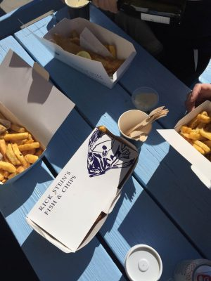 Padstow Cornish holiday Rick Stein fish and chips