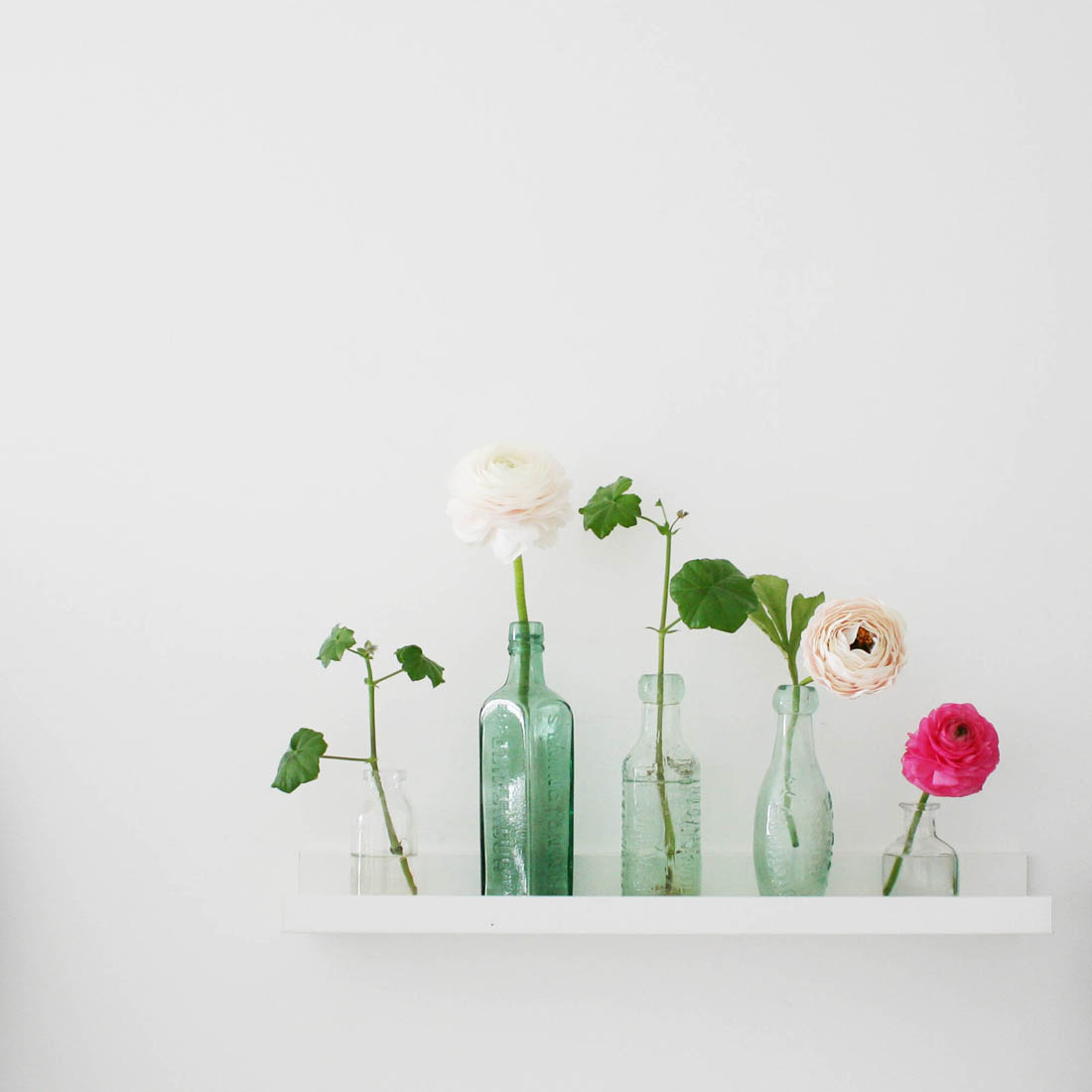 Using vintage finds to create a botanical theme in my bedroom