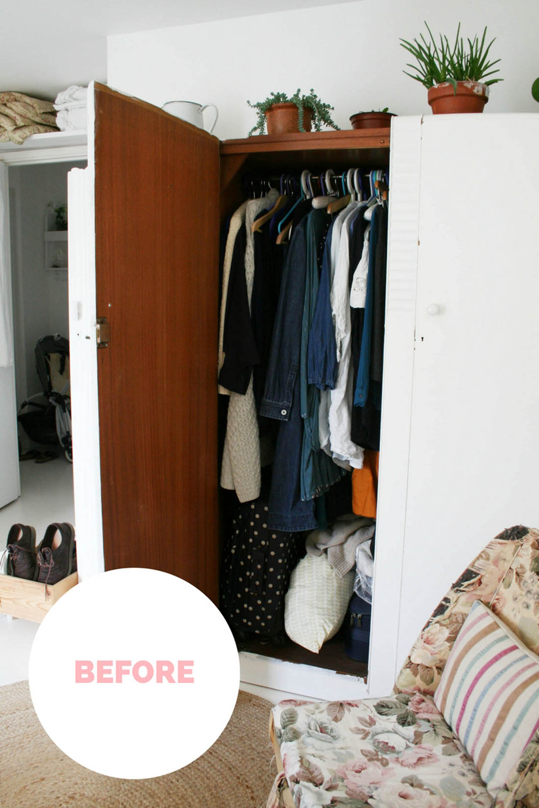 wardrobe makeover refresh for the autumn