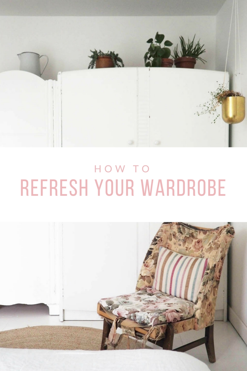 How to refresh your wardrobe