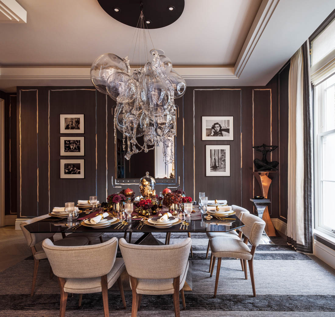 The Holiday House interior design showhouse designed by renowned interior designers.