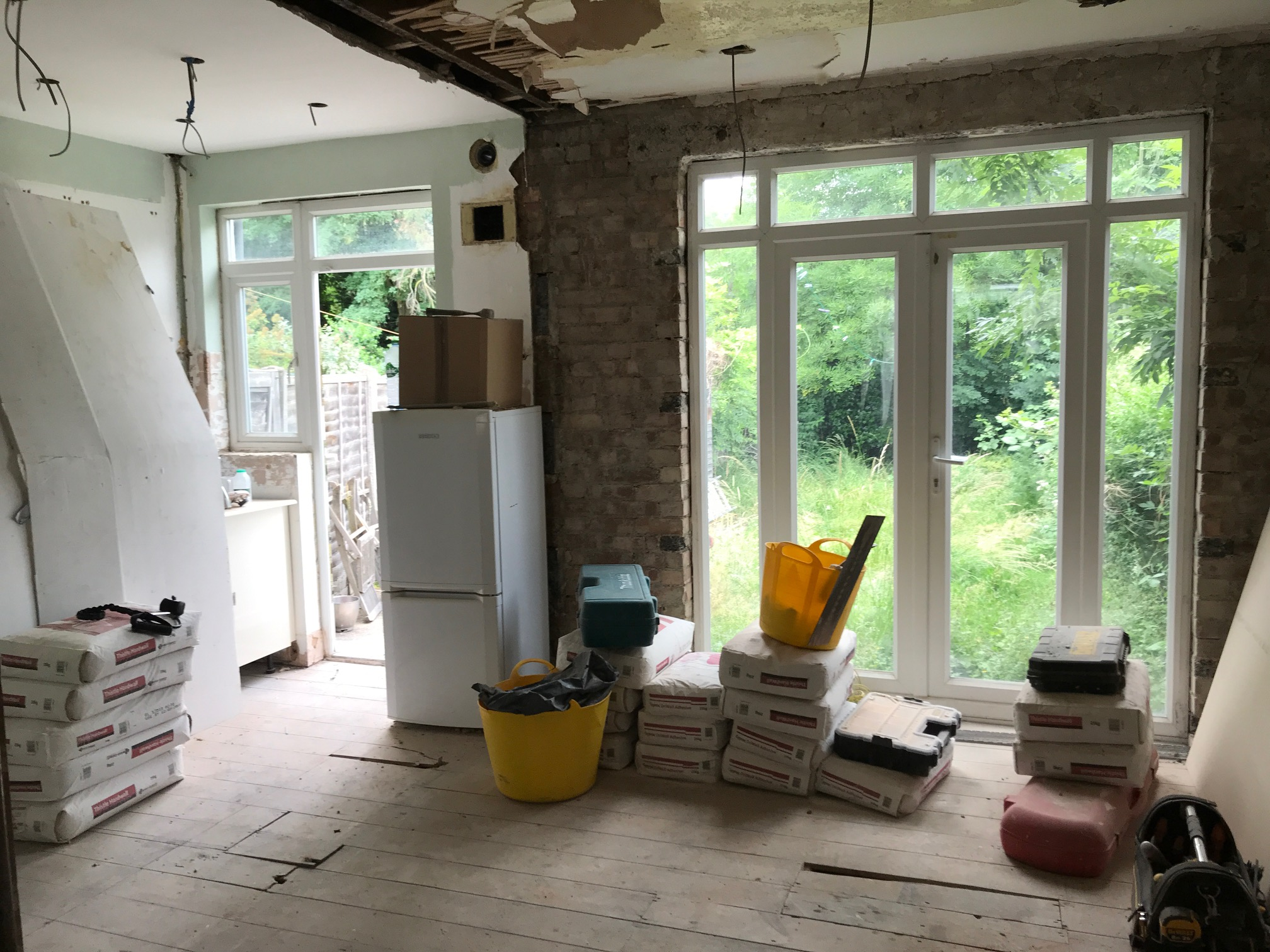 Week two: Our house renovations