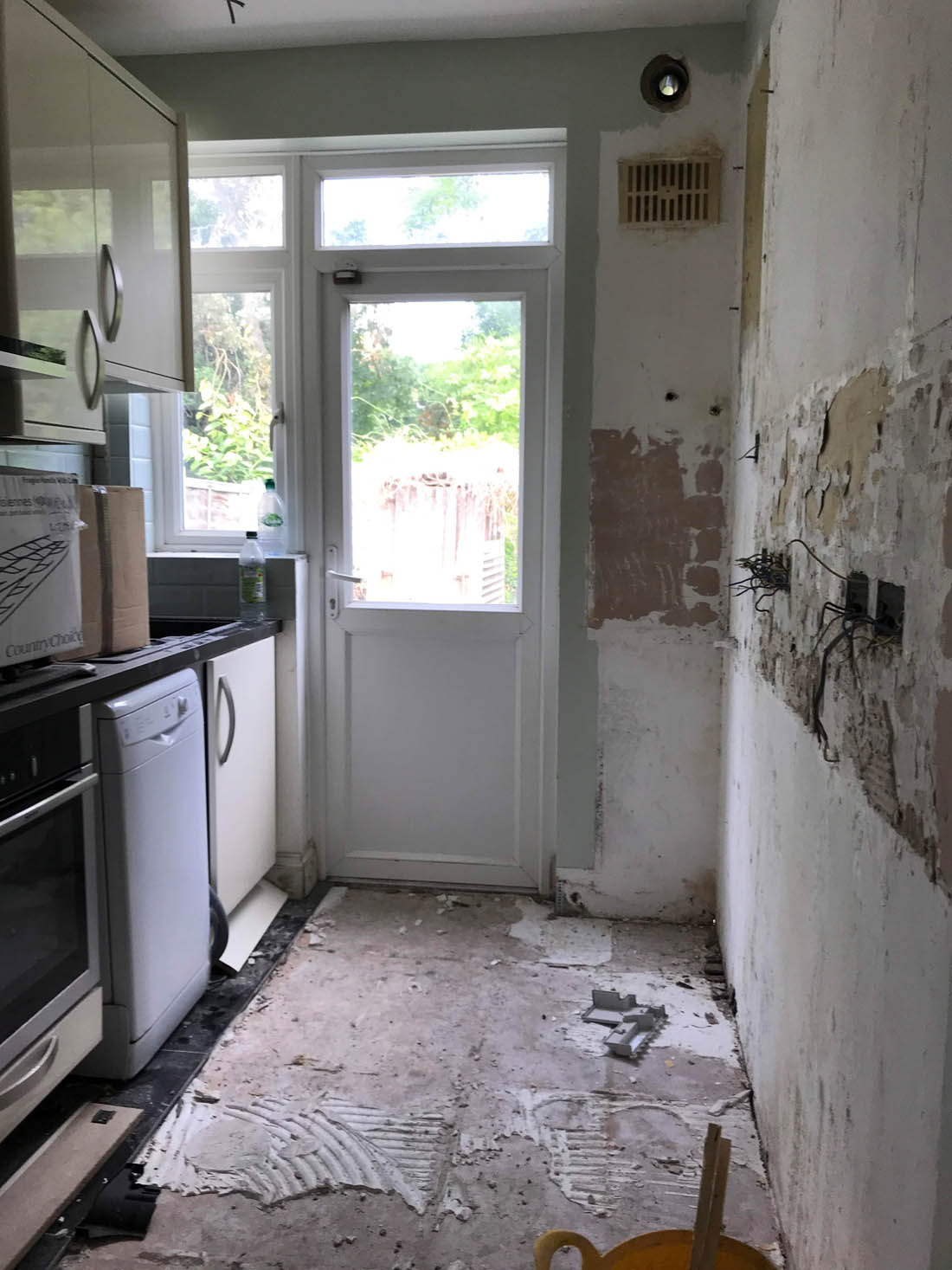 Week one: our house renovations