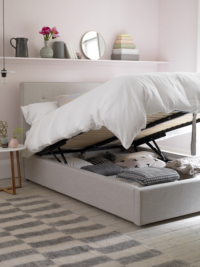 Space saving solutions for a small bedroom