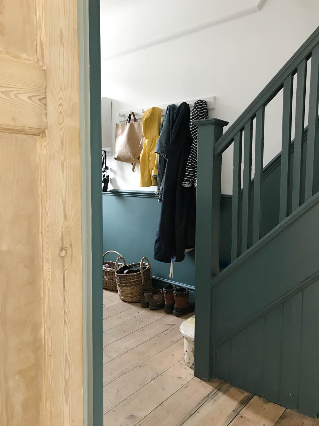 Our unfinished hallway and need for storage