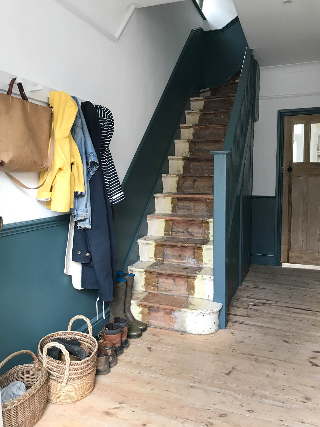 Our Unfinished Hallway And Need For Storage Apartment Apothecary