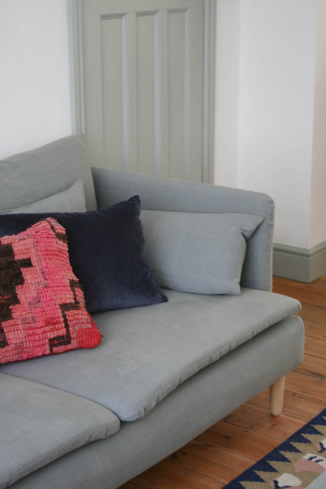 A new winter look for my sofas and 25% off for you