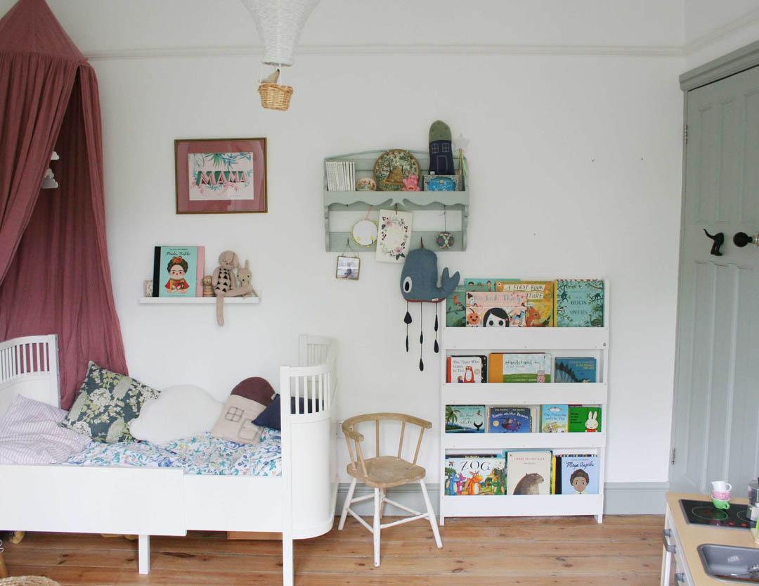Transforming Mimi's nursery into a child's bedroom