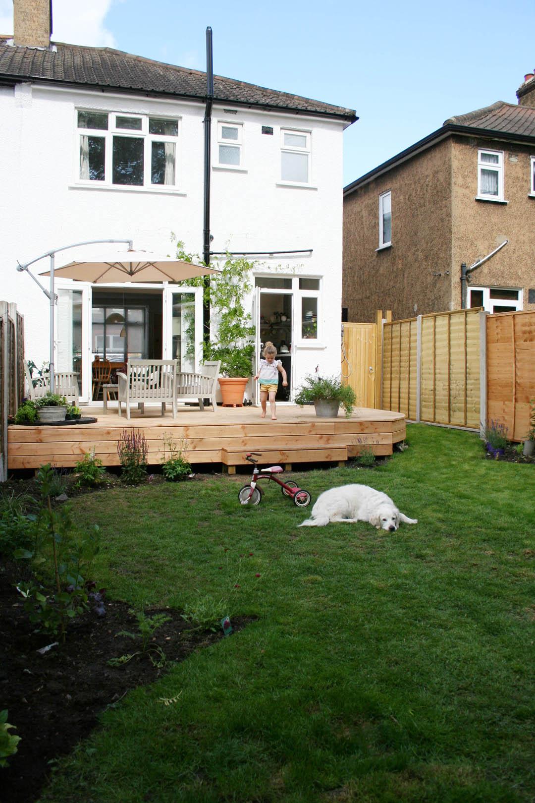 Garden makeover reveal