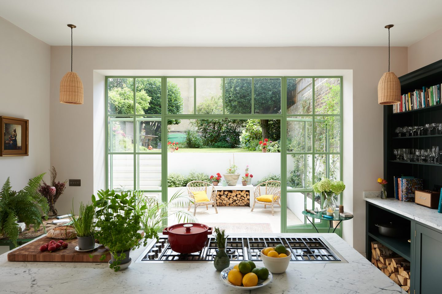 DIY faux Crittall doors inside your home